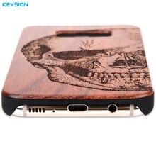 KEYSION Solid Wood Case for Samsung Galaxy S8 S8Plus