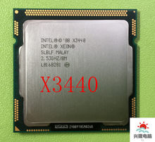 Intel Xeon X3440 x3440 CPU /2.53 GHz/LGA1156/8 MB/Quad-Core/I5 650 i5 750 i5-760(China)