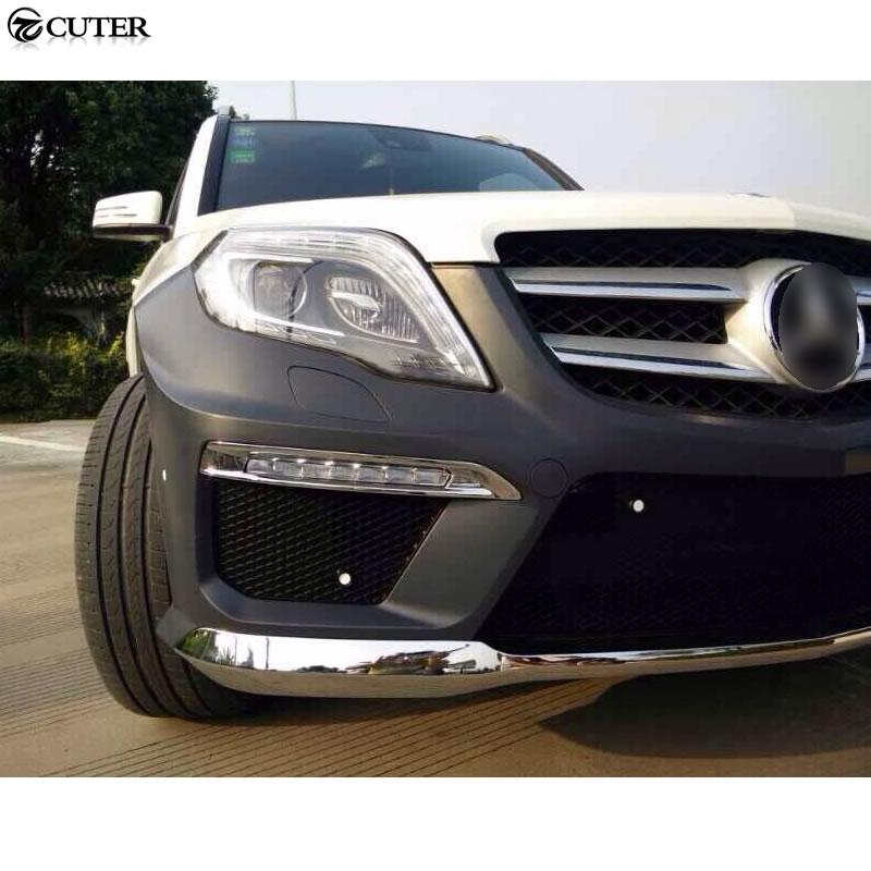 X204 GLK200 GLK260 GLK63 PP Auto Car Body Kits bumper guard For Benz GLK300  GLK350 GLK63 AMG 08-15
