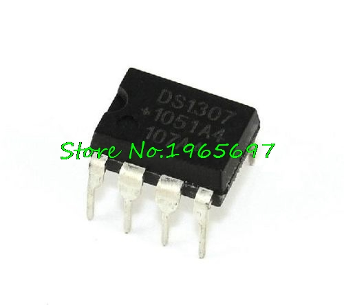 10pcs/lot DS1307 DS1307N DIP-8 New Original In Stock