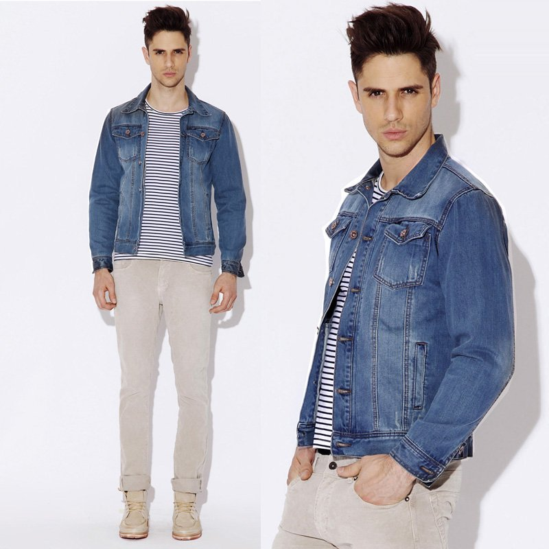 Compare Prices on Jean Jackets Male- Online Shopping/Buy Low Price ...
