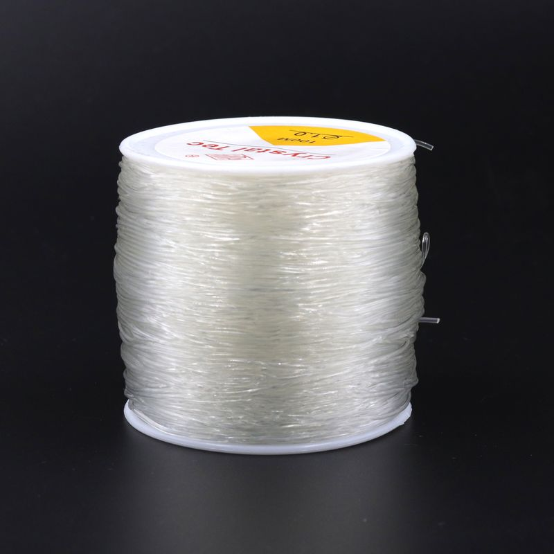 100yd 0.5 0.8 1mm High Elastic Beading Cord String Crystal Thread for Jewelry Making DIY Necklace Bracelet Accessories Wholesale
