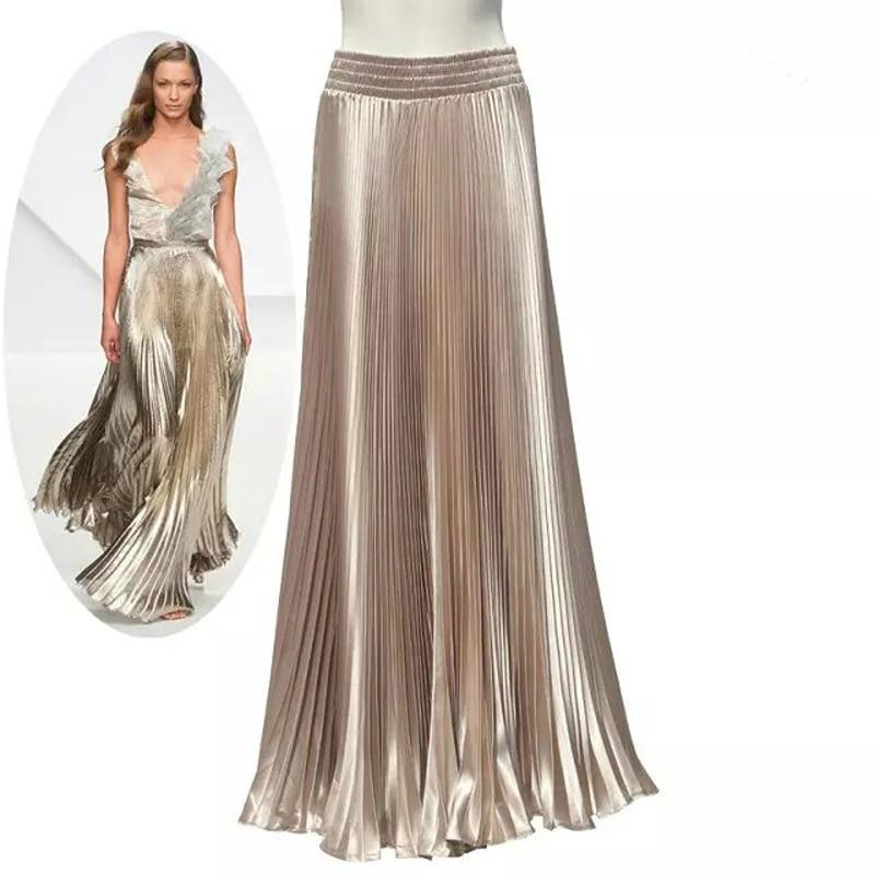 Long Flared Maxi Skirts