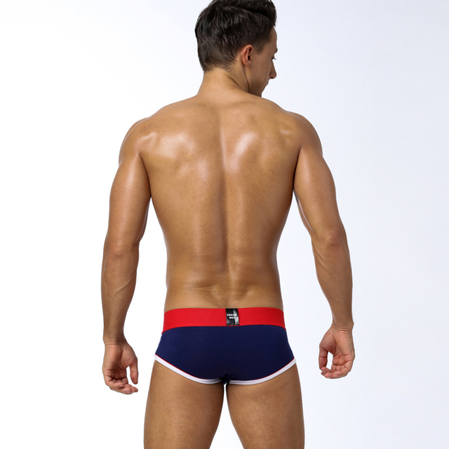 Brand Fashion hot elastic popular brand BS Underwear breathable cotton sexy gay spandex cueca hombre men underwear BS39