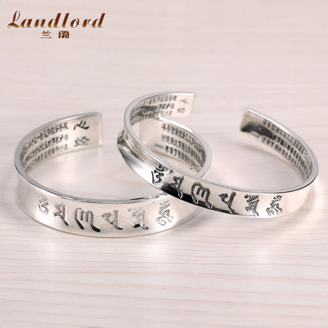 New Arrival S999 Thai Silver Bracelets Bangles For Women Pure 999 Sterling Silver Jewelry Beautiful Design Fine Jewelry CB0020
