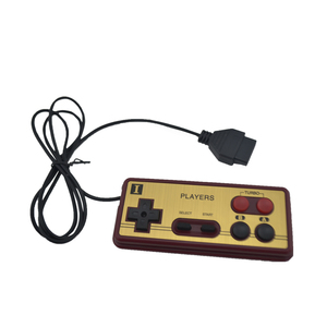 Image 2 - Mando para consola de videojuegos, 8 bits, Conector de 15 Pines, Mando de Cable para N E S, mando para F C