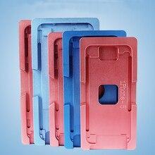 Алюминиевые формы для iPhone X/5/6/6 S/7/8/8 plus ламинаторы металла джиг только Переднее стекло с рамкой местоположение для ОСА пользователя