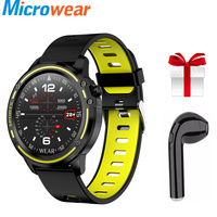 L8 Sport Smart Watch IP68 Waterproof Pedometer Heart Rate Blood Pressure ECG PPG Monitor Smart Watches For Men VS L6 L5 P70 P68