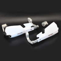 White Handlebar Handguards Hand Guard For BMW R1200R R1200 R 2007 2014 Motorcycle Accessories Handle Bar Protector