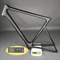רק 766 גרם סופר אור אופני מסגרת סיבי פחמן aero אופני כביש מסגרת סיניים באיכות גבוהה גודל זמין 50/52/54/56/58 ס