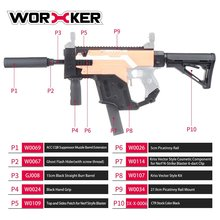 цены на WORKER Dagger Cover Updated Version Modified Kit Kriss Vector Imitation Kit Special for Toy Guns Stryfe Modify Toy Gun Parts New  в интернет-магазинах