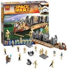New STAR WARS Battle Droid Troop Carrier 565pcs Clone War Building Blocks Bricks Action Figures Starwars Toys axidis