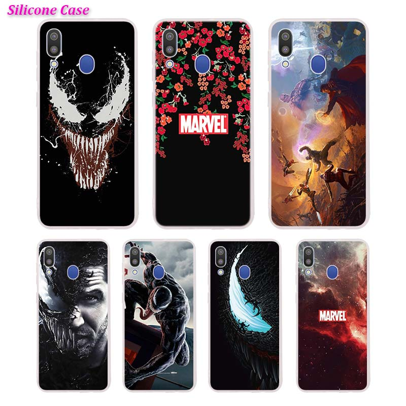 Silicone Phone Case Venom Printing for Samsung Galaxy A70 A50 A40 A30 Phone bag Cover