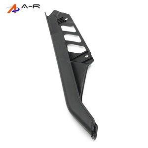 Image 5 - Guardabarros de cadena de ABS para motocicleta, cubierta protectora lateral, Protector para Suzuki DR125, DR200, DR650, DR 125, 200, 650, 04 17