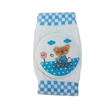 High Quality 1Pair Infant Boys Girls Kneepad Cotton Soft Comfortable Young Children Knee Pads Baby Learn To Walk Best Protection