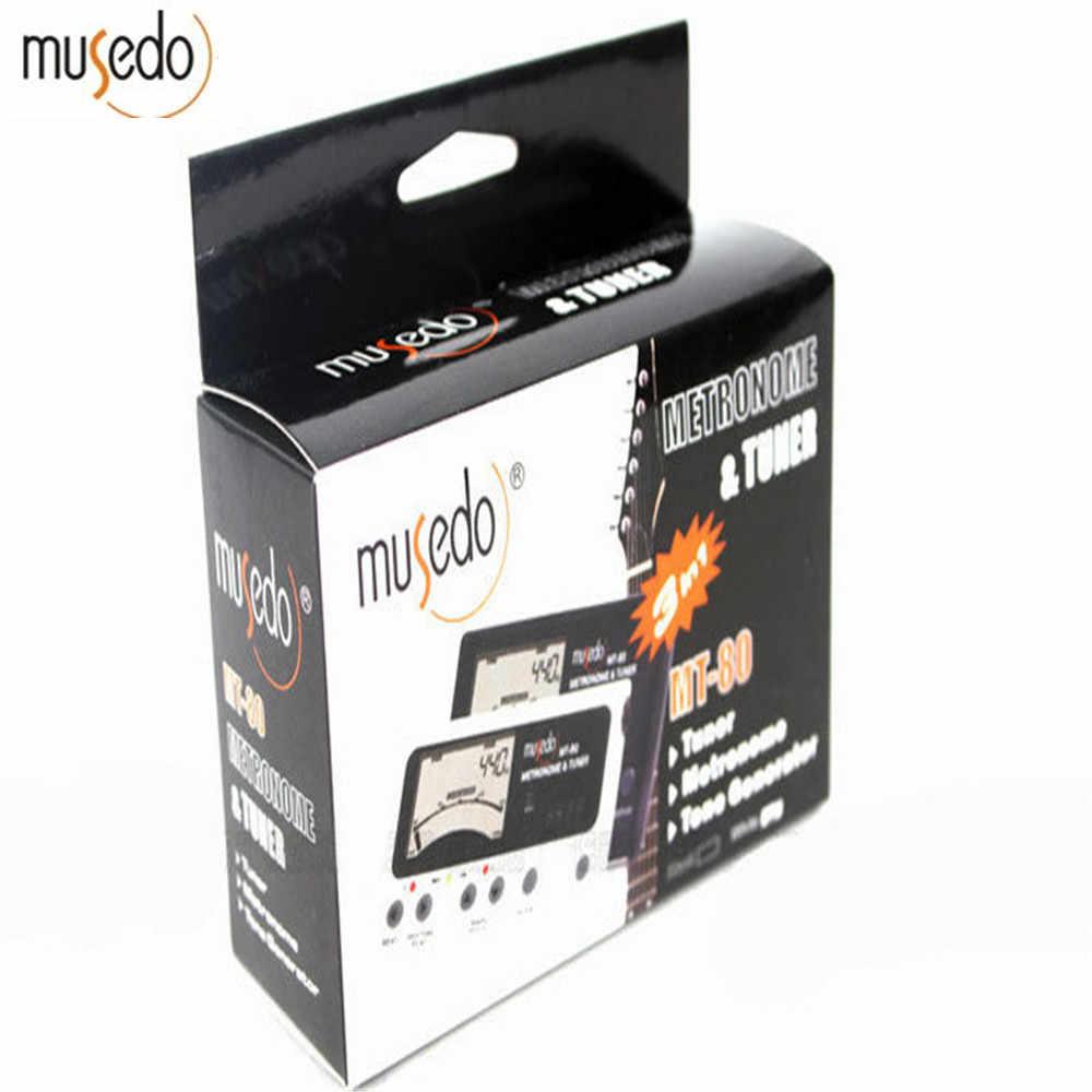 Musedo MT-80 Professional Precision LCD Guitar Metronome Tone Generator  Guitar Tuner