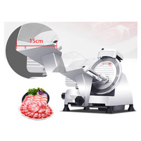 Sliced meat slicer mutton roll cutting machine fresh fruits slicing cutter