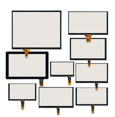 High Compatibility Universal 4.3/5/6.5/7inch/8/9/10.1/12.1inch Capacitive Touch Digitizer Screen Panel Glass