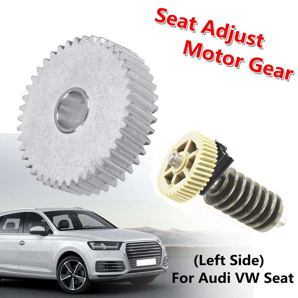 Car Seat Adjust Motor Wheel Gear Left Side For Audi A4 A6 Q7 for VW Touareg Seat Exeo 7L0 959 111 4F0 959 111 4F0959111 ...