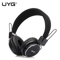UYG Active Noise Cancelling Bluetooth Headphones Wireless Stereo Headset Deep Bass Headphones With Microphone For Phone