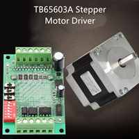 Tb6560 3A Stepper Motor Driver Stepper Motor Driver Board Single-Axis Controller 10-Speed Current