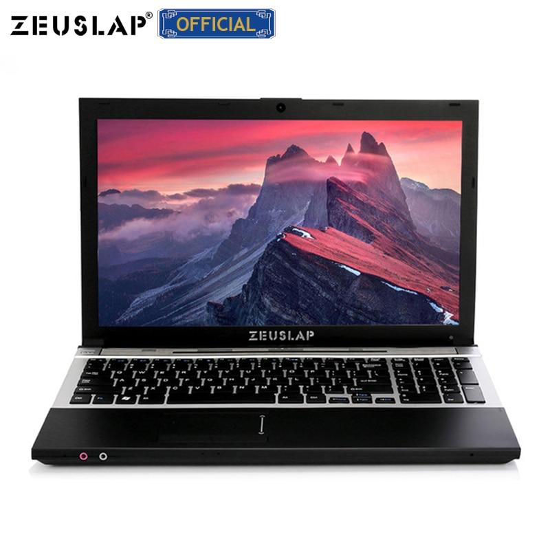 ZEUSLAP 15.6inch Quad Core 8G ram 500GB hdd intel pentium with DVD ROM 1920x1080 screen Windows 10 Notebook PC Laptop Computer