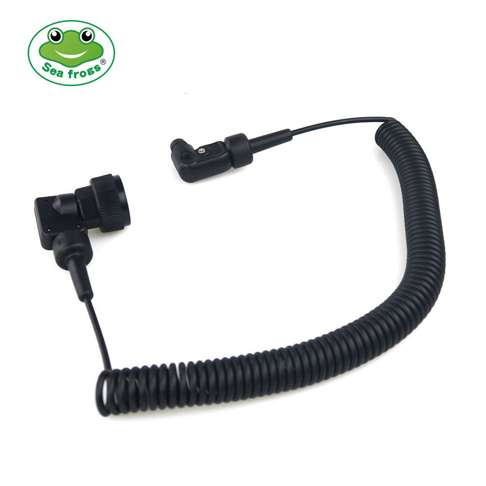 Sync Cord Optic Fiber Cable for Seafrogs Meikon Underwater Strobe 1m Female and Male Interface Diving
