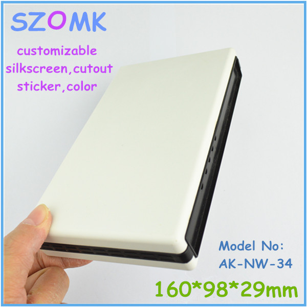 1 piece free shipping net working plastic enclosures for electronics 160x98x29 mm plastic enclosures electronics 1 piece free shipping abs plastic electronics enclosures case housing for design and any device box could be hang up