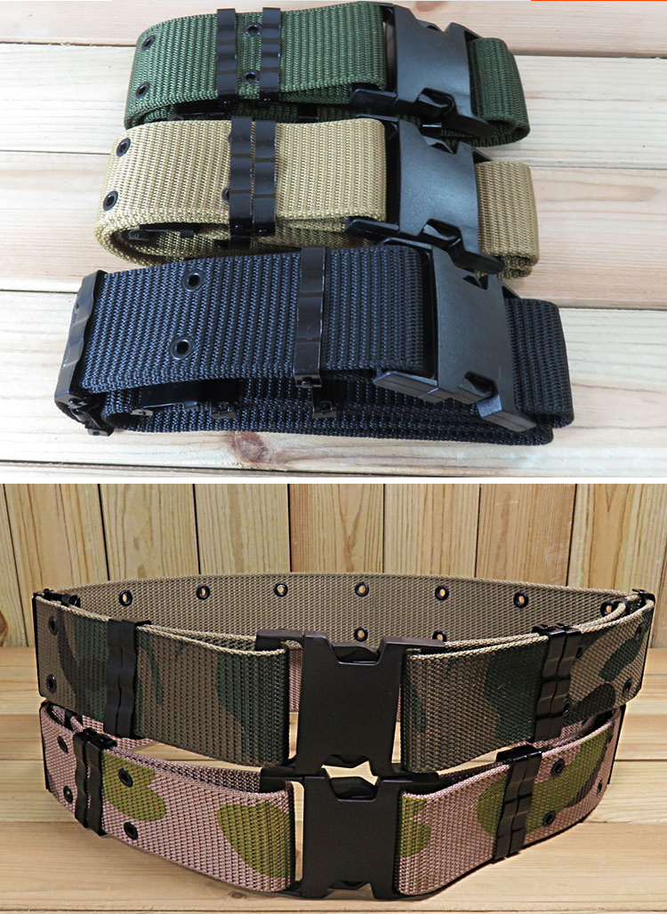125CM Tactical Adjustable Belt Outdoor Hiking Hunting Weight Bearing Practical Belt Waist Support Tactical Clothing Accessories