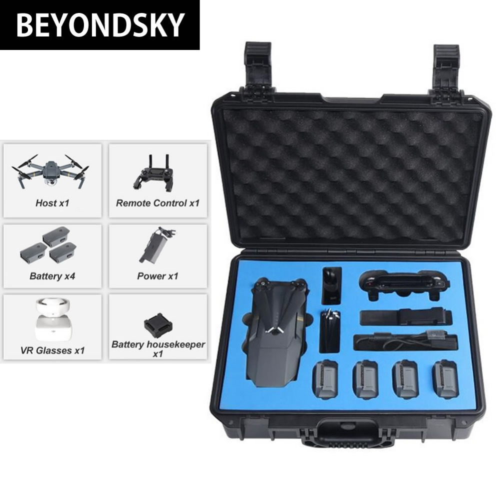 Drone Case For DJI font b Mavic b font font b Pro b font Waterproof Portable