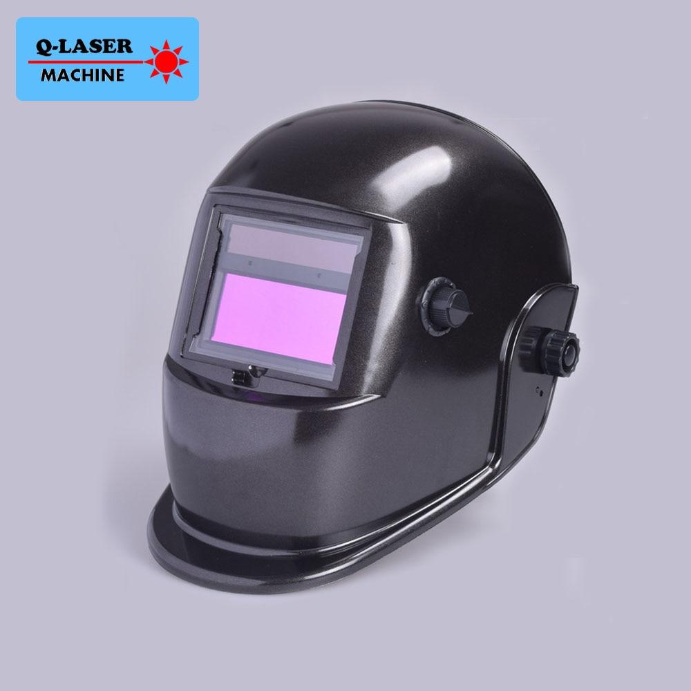Auto Darkening Welding Helmet KM-6000A for Laser/Argon ARC/GAS <font><b>Shielded</b></font>/TIN/ Electric Welding