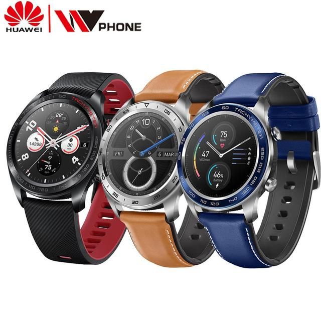 Huawei Honor שעון קסם SmartWatch קצב לב עמיד למים גשש שינה Tracker עבודה NFC GPS