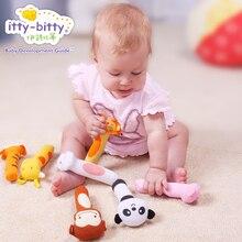 Обучение Образование погремушка Дети Детские игрушки Bb палки детские игрушки 6-12 месяцев 0-1 лет ручной кукольный игрушка рукоятки ручки