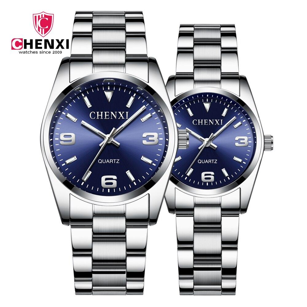 Fashion Top Brand Luxury Men's Watches Couple Watch 30m Waterproof Quartz Casual Wrist Watch Couple Watch Relogio Masculino