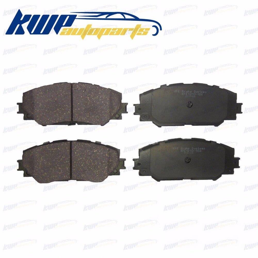 New premium ceramic disc brake pad set for toyota corolla prius scion matrix rav4 lexus hs250h