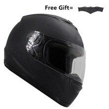 Original BYE 616 full face motorcycle helmet with sun visor women man casco moto Racing motorbike Helmets moto Capacete