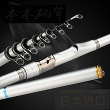 Japan Imported Rock Fishing Rod Set Long Section High Carbon Ultra Light Super Hard Fish Sea Rod Set Carbon Fiber Olta Pesca