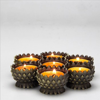 Lotus Candle Holder Bathroom Bedroom Candle Holders Departments Dining Room Entryway Living Room Outdoor Rooms