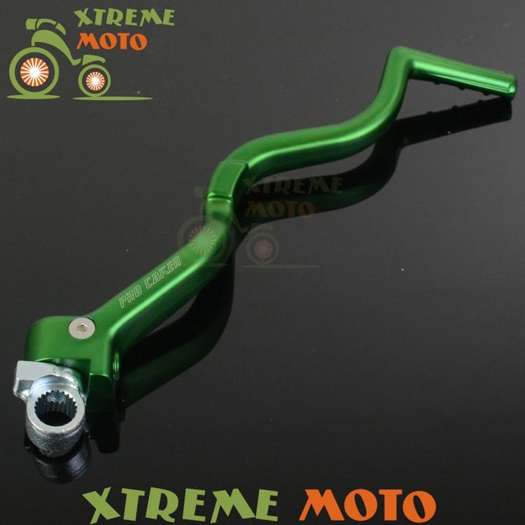 Forged Kick Start Starter Lever Pedal For Kawasaki KX450F 08-15 KLX450R 08-12 Motocross Motorcycle Supermoto Enduro Dirt Bike
