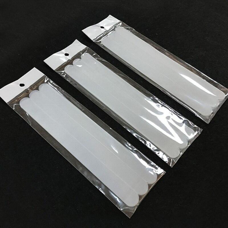 380*20mm Anti Slip Bath Grip Stickers Non Slip Shower Strips Flooring Safety Tape Mat Pads