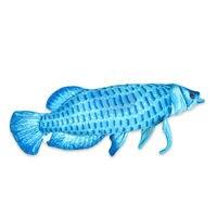 Free Shipping Gold Arowana 67 Cm Super Size Plush Big Fish Cartoon Plush Toys Stuffed Animals