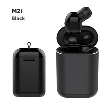 M2i TWS Mini Bluetooth 4.2 Wireless Earphones Stereo Bass Headset Sports hifi Earbud with Charging box 5 Hours Working