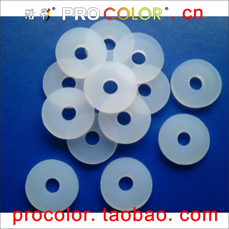 Washer Clear Silicone Rubber Sealing Ring transparent silicone seal ...