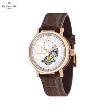 Наручные часы Earnshaw ES-8082-03 мужские механические с автоподзаводом на кожаном ремешке