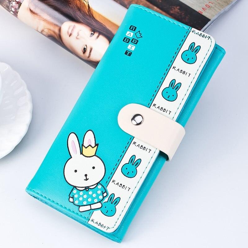 2018 Fashion Prints women organizer wallets zipper long cash pocket cellphone Card holder Luxury famous designer female wallets 1