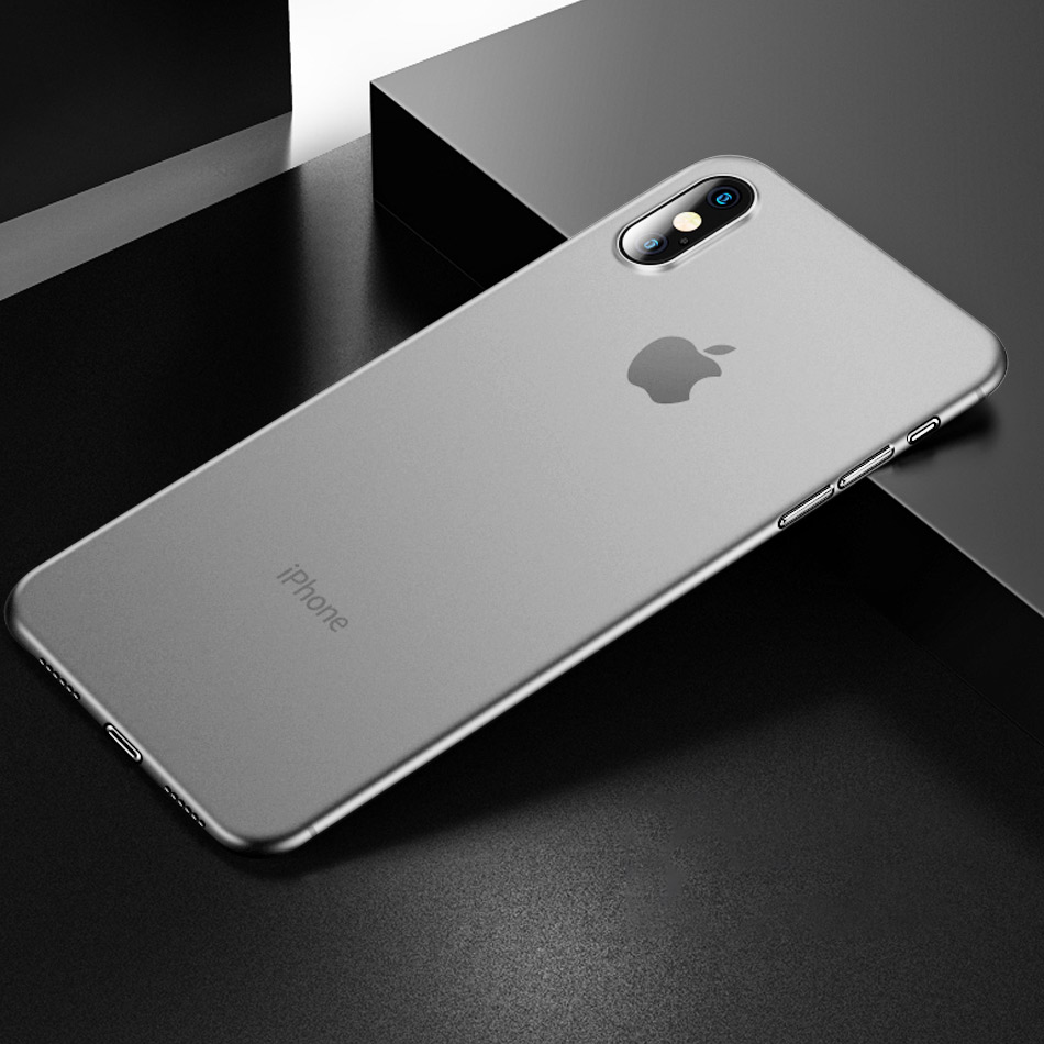 0.26mm Ultra Thin Matte Case On The For IPhone XR XS Max X 8 7 6 6s Plus Shockproof Case Cover For IPhone 11 Pro Max Luxury Case