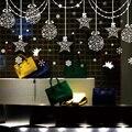 Мода окно декоративные наклейки белый цвет звезды снежный ангел home decor для семьи mutfak обои комната магазин украшения