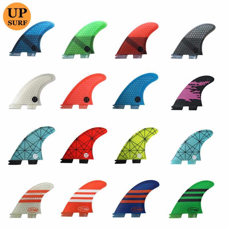 Quilhas Fcs2 G5 กระดานโต้คลื่นFins Paddle Surf Sup Fcs 2 Fins Paddle Board Surf Board Fins Fcs2 Stand Up Paddle wassersport UPSURF