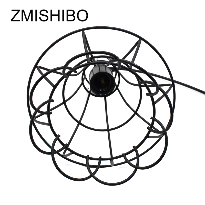 Zmishibo 110v 220v E27 Lamp Holder Pendant Lights Nordic Vintage