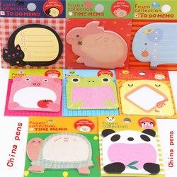 Очаровательная 070 Серия животных блокнот липкая закладка для заметок точка это наклейка бумага офисные школьные принадлежности
